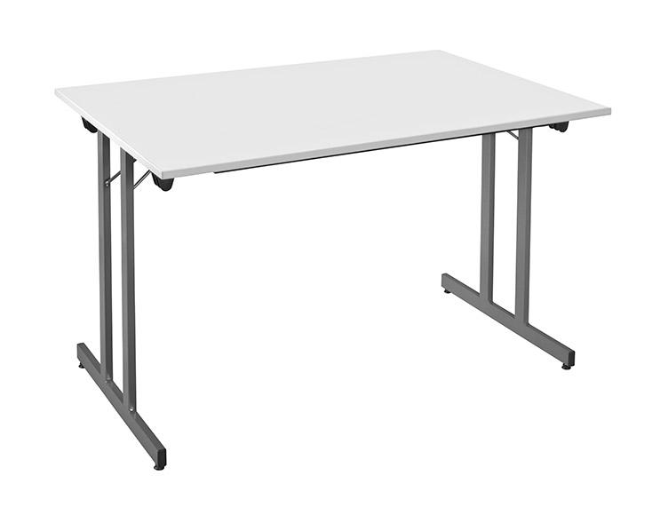 Table Multiusages gris-anthracite-opti